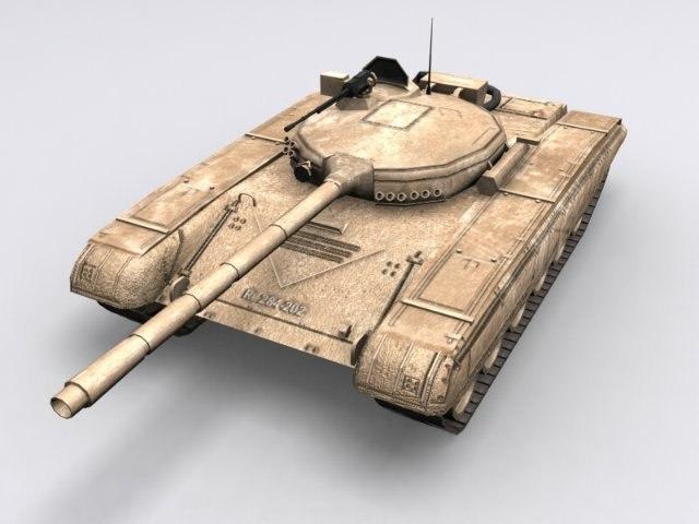 3d t-72 battle tank