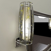 3d table lamp mirror