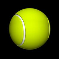 free tennis ball 3d model