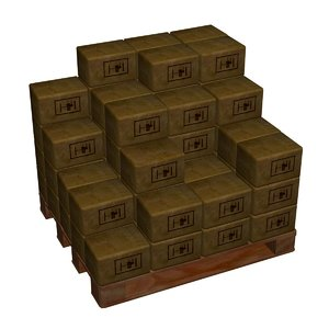 warehouse object 3d model