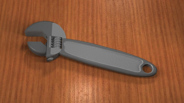 3d model wrench