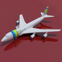 Transavia Airline Boeing 747