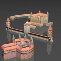 3d building castle
