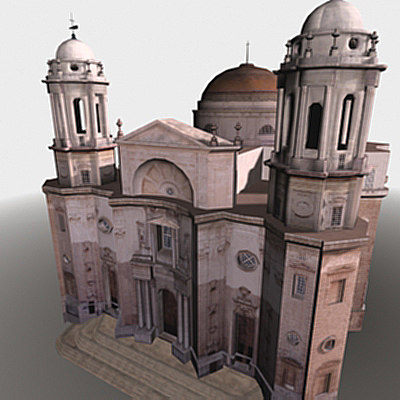 catedral cathedral 3d model