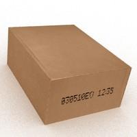 Cardboard Box (Game Ready)