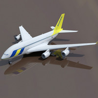 3ds max airbus a380 sudan