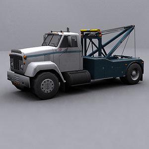 3dsmax ready wrecker tow truck