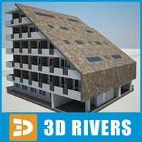 building house 12 3d model