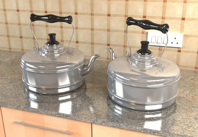 kettle 3d max