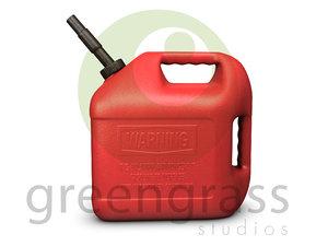 3d gas model