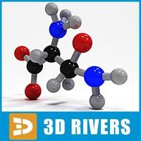max asparagine molecule structure