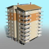 building 01 3d max