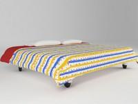 3d max bed cama children