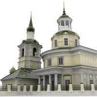 3ds max chapel christian