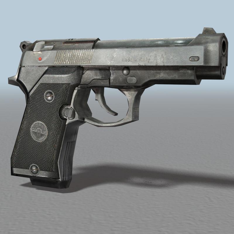 gun bullet 3ds