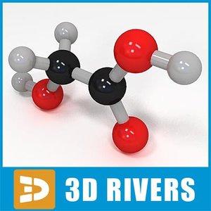 glycolic acid 3d ma