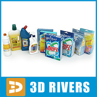 Cleaning supplies by 3DRivers