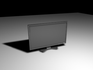 lcd monitor c4d