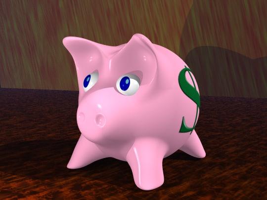 obj pig money
