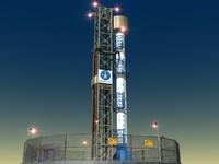 3d iranian safir rocket iran