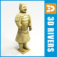 Terracotta standing statue by 3DRivers