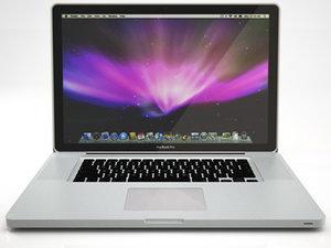 apple macbook pro led 3d model