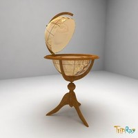 3d decorative table model