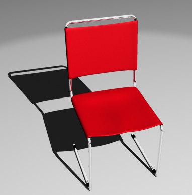 maya simple chair