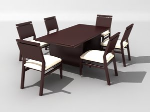 3ds max dining comedor