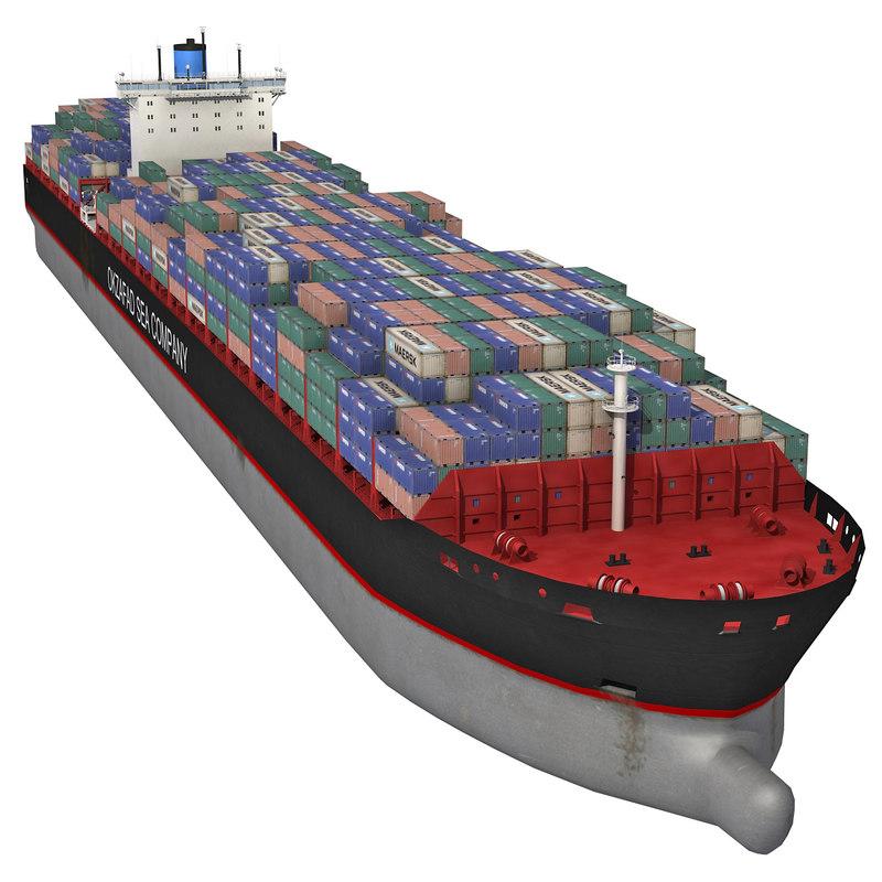 cargo container ship max