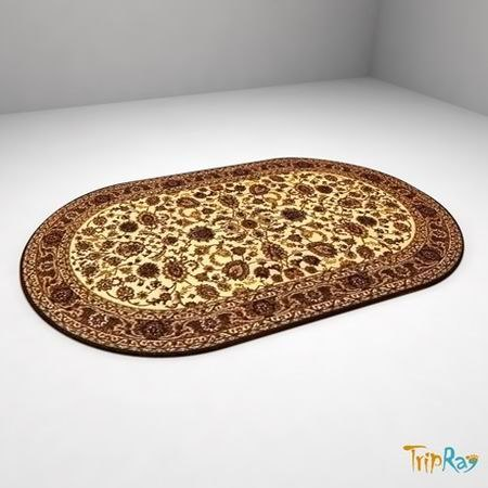oval carpet 3ds