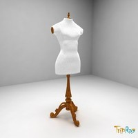 mannequin dummy 3d model