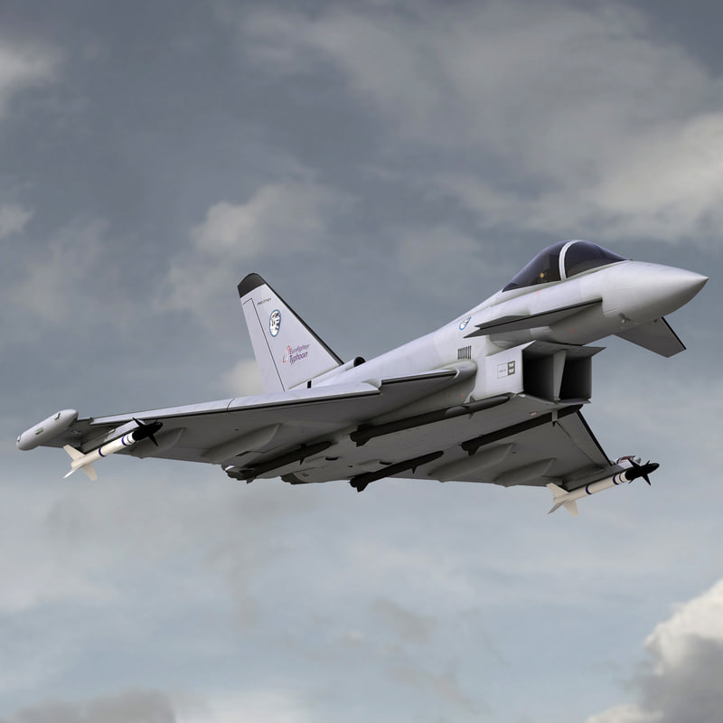 eurofighter typhoon max