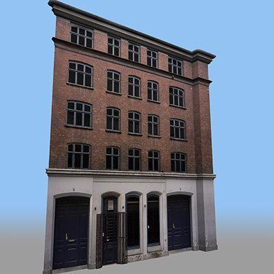 3d modular facades model
