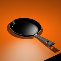 3d pan kitchen model