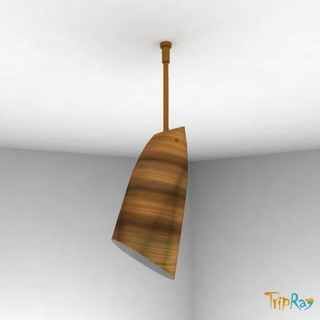 free lamp ceiling directional 3d model