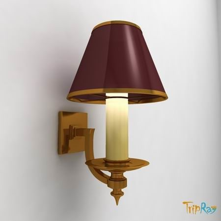 lamp sconce 3d max