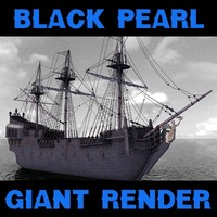 black pearl 3d model