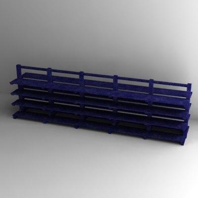 rack 3d 3ds