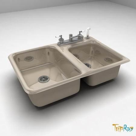 kitchen sink double 3ds
