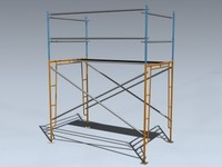 3d model scaffold