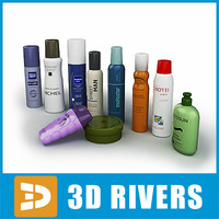 3ds max hair set soap shampoo
