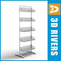Small goods display shelf by 3DRivers