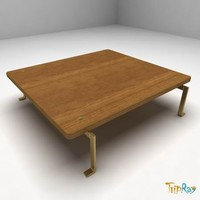 free 3ds model coffee table