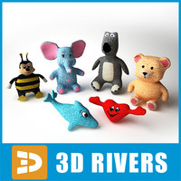 3ds stuffed toys