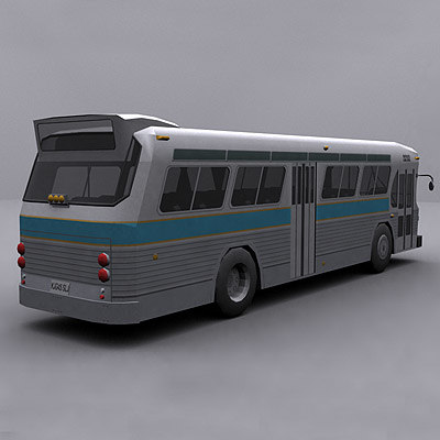 3ds max ready bus