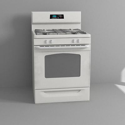 3d cooking range
