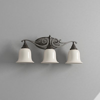 3d model bathroom light