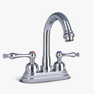 faucet bathroom 3d obj