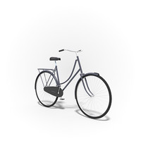 Free bicycle 3d model